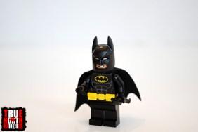 LEGO Batman alternate face.