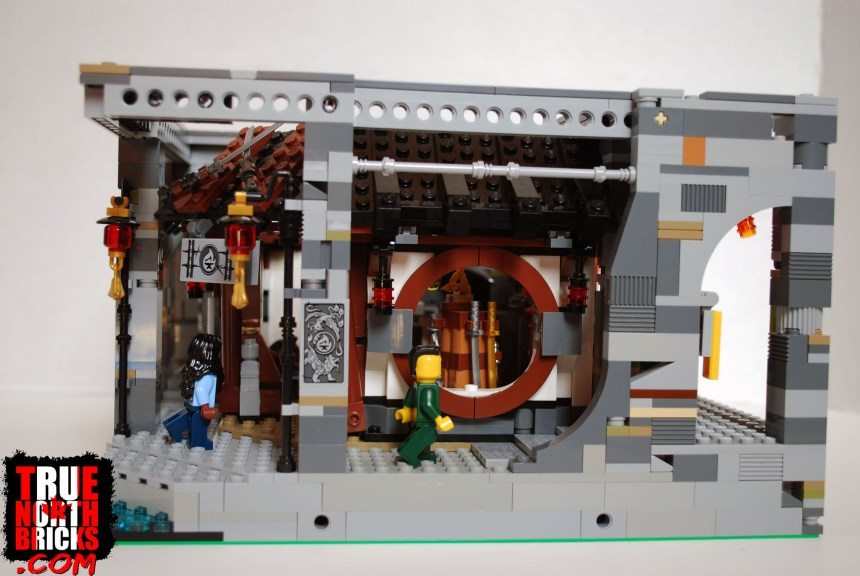 Side view of my custom Dragon's Forge.