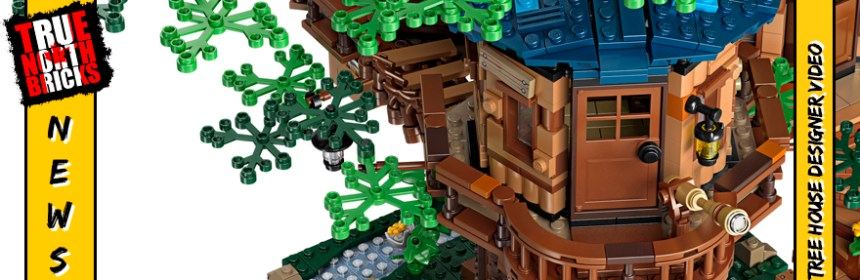LEGO® Ideas Tree House designer video