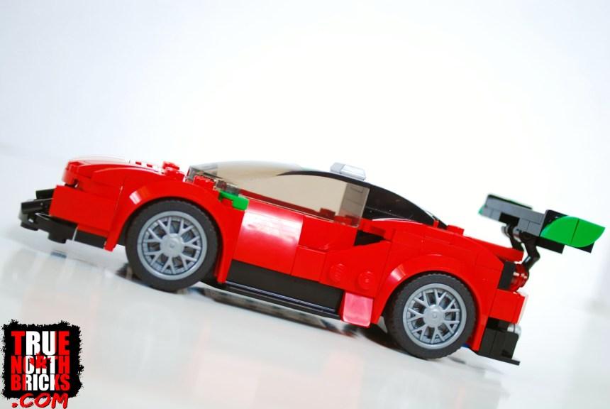 Side view of Ferrari 488 GT3