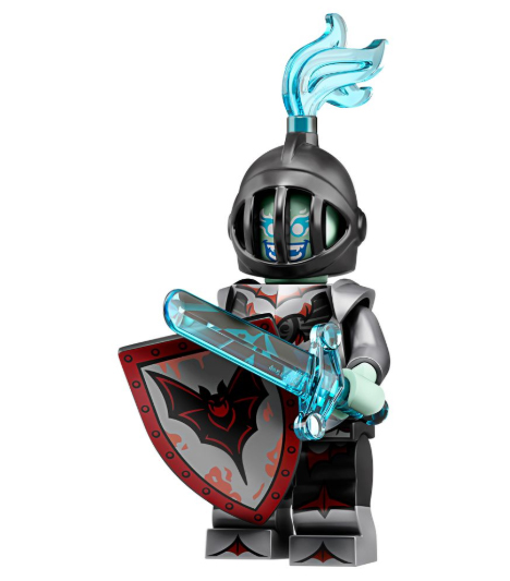 Minifigure Series 19 Black Knight