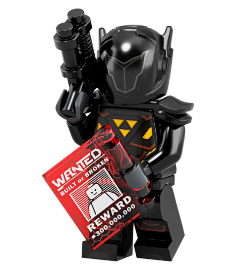 Bounty Hunter Minifigure.