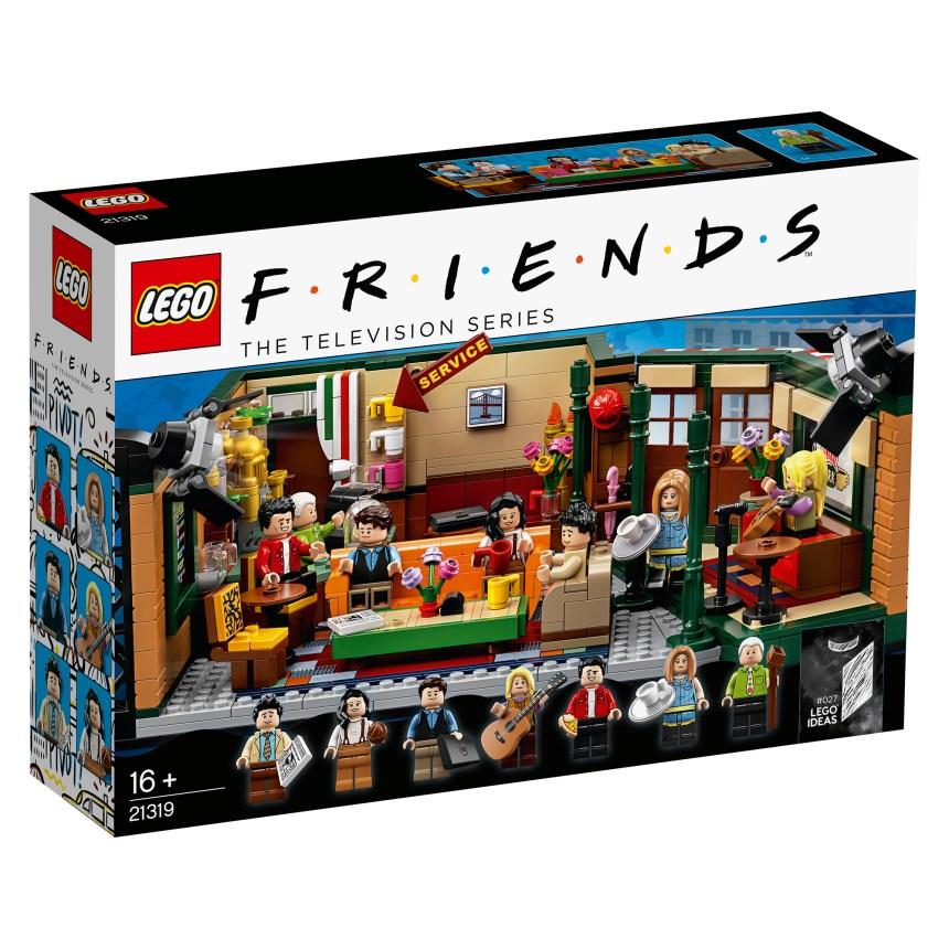 LEGO® Ideas Friends Central Perk box art.