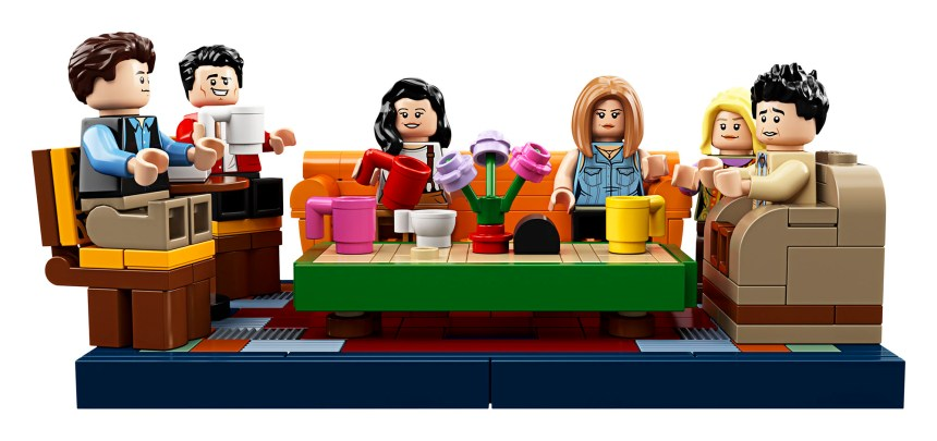 Friends Central Perk LEGO set.