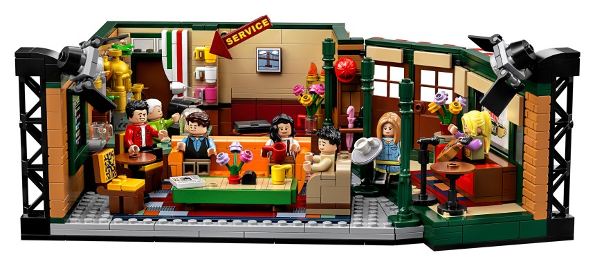 Friends Central Perk set from the LEGO® Group