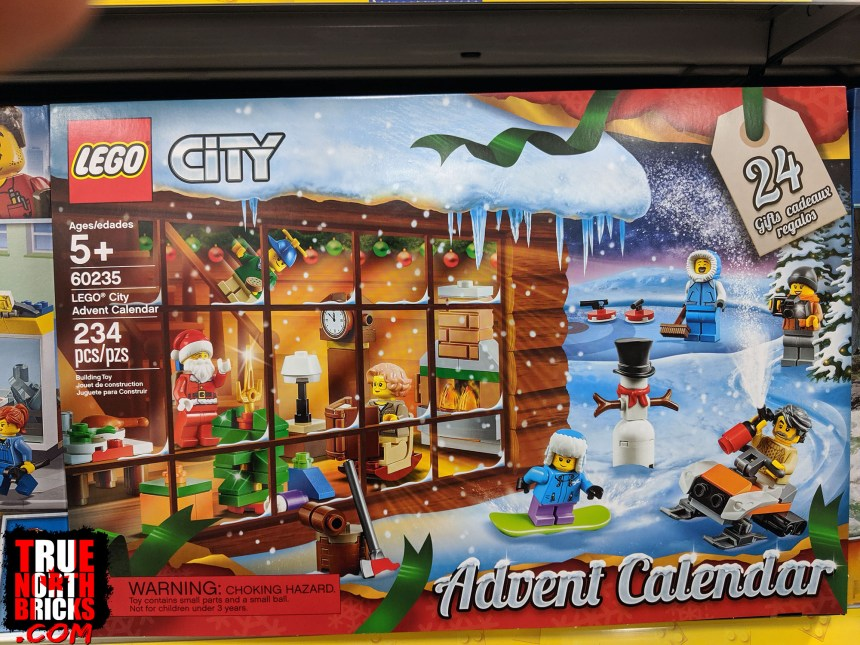 City Advent calendar box front view