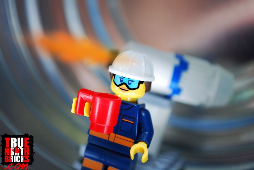 Rocket engineer Minifigure from the Space Research and Development set.