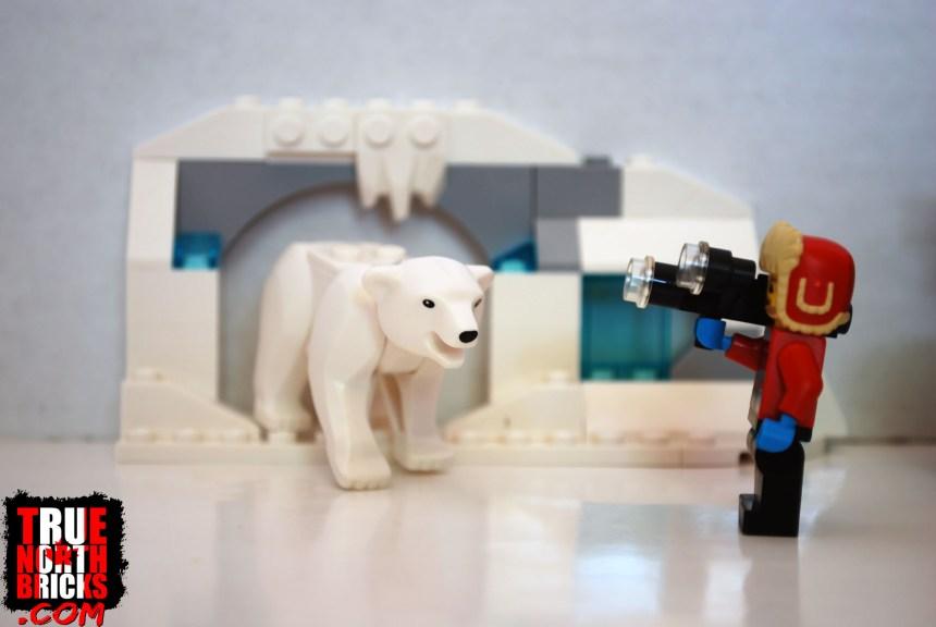 The polar bear cave.