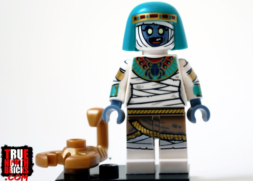 Mummy Queen from Minifigures Series 19.