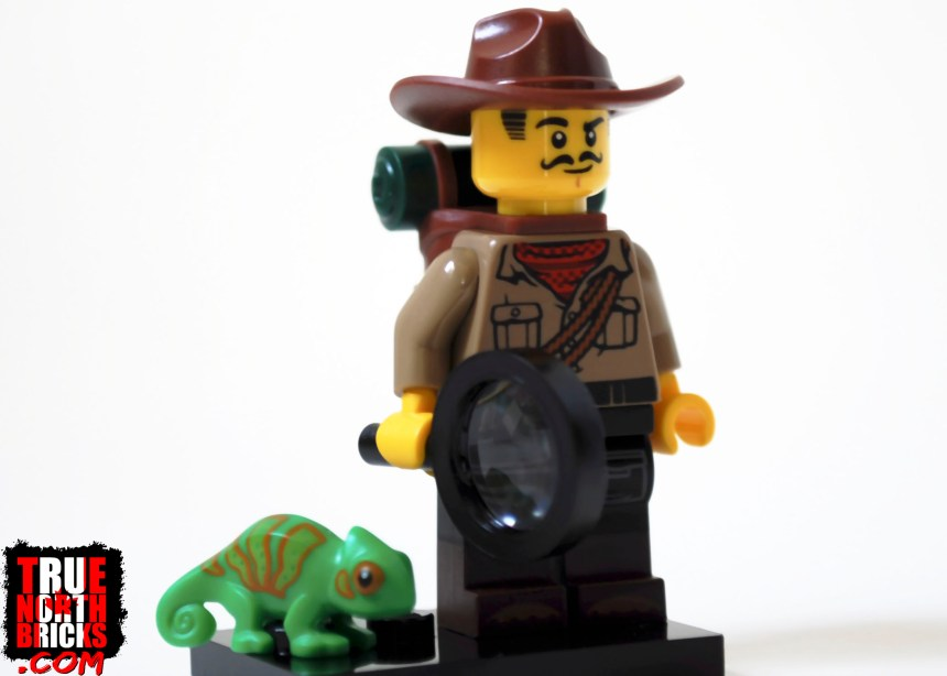 Jungle Explorer from Minifigures Series 19.