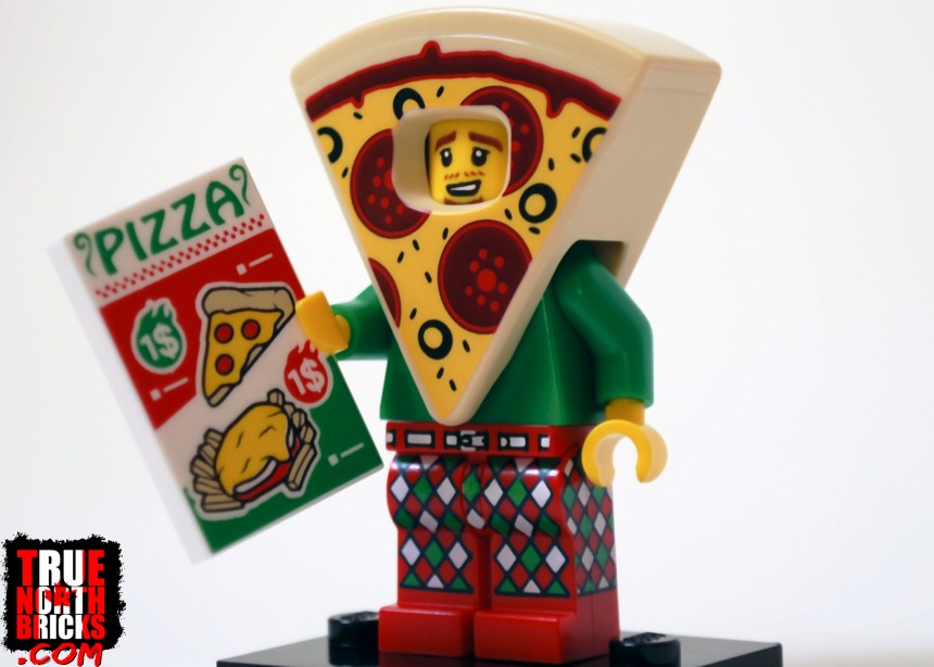 Pizza Costume Guy from Minifigures Series 19.