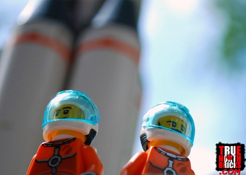 Astronaut Minifigures.