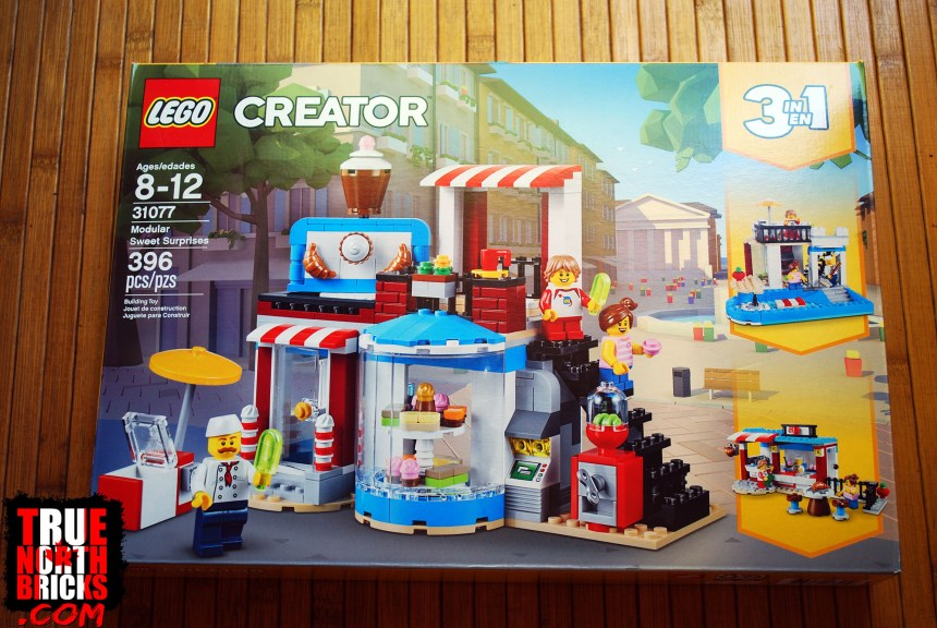 August 2019 LEGO® Haul - Modular Sweet Surprises
