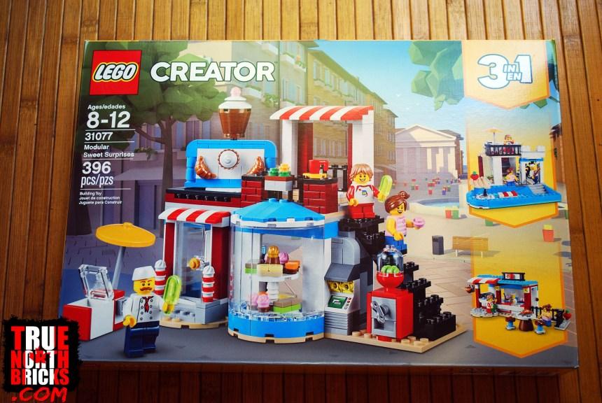 August 2019 LEGO® Haul - Modular Sweet Surprises