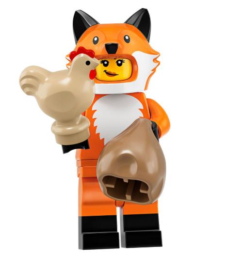 Fox Costume Minifigure.
