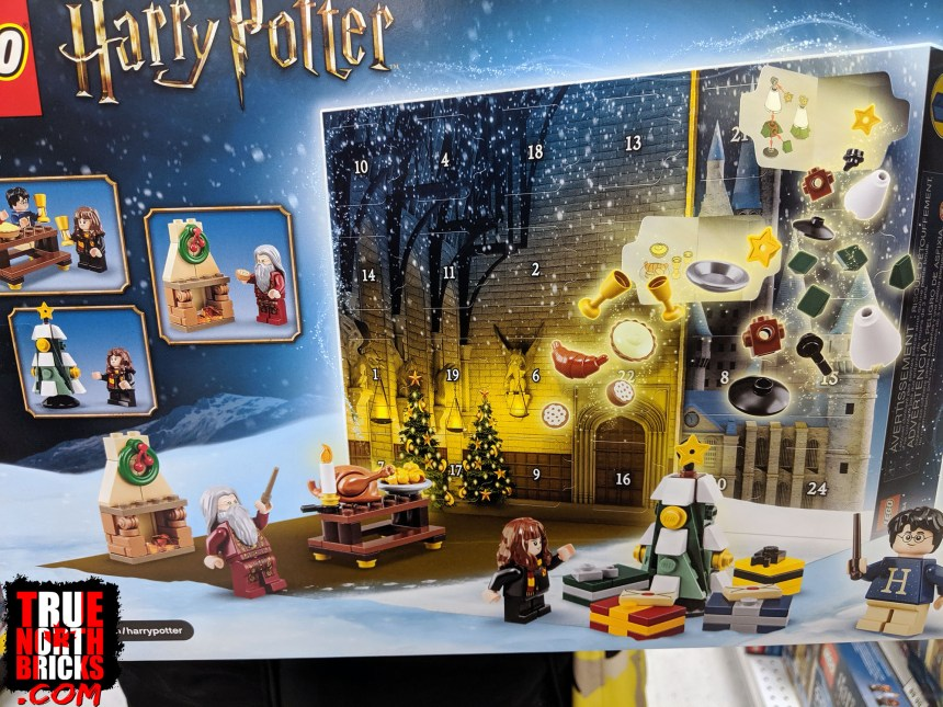 Harry Potter Advent calendar box back view