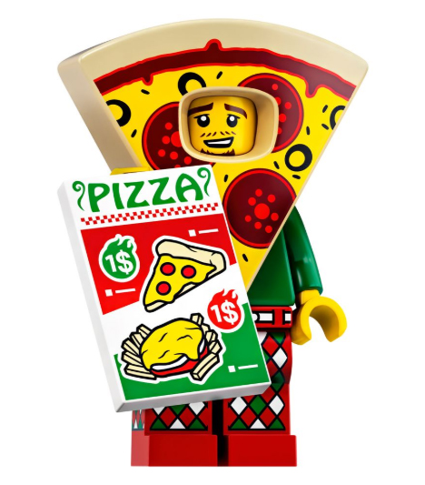 Minifigure Series 19 Pizza Suit Guy