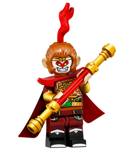 Minifigure Series 19 Red Priest