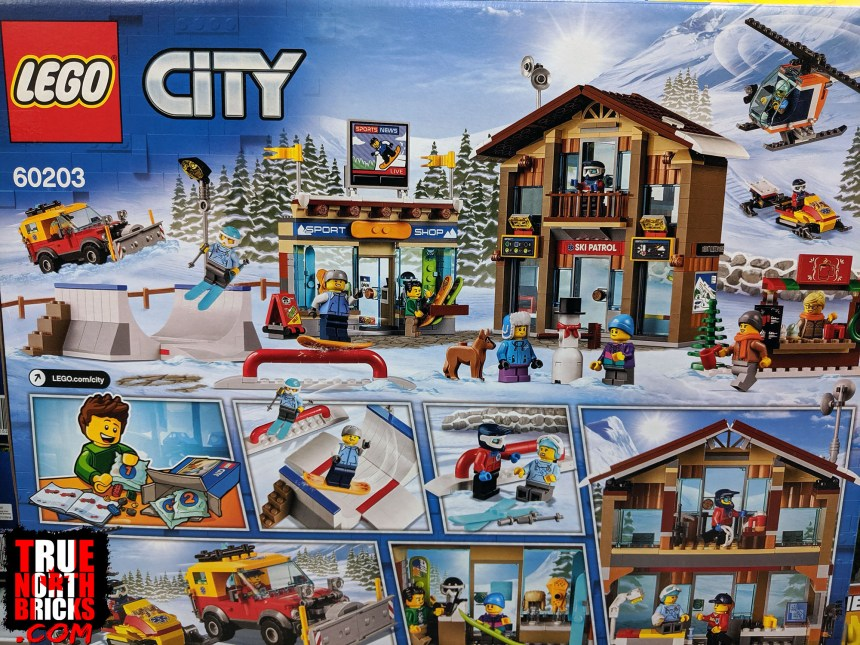 City Ski Resort box