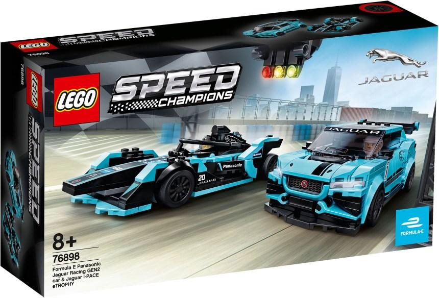 Panasonic Jaguar race cars box art.