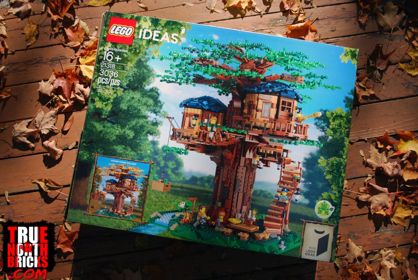 Tree House (21318) front box art.
