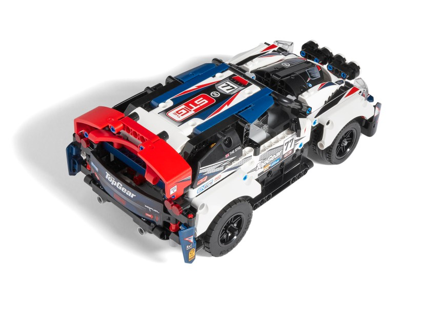 Top view of Technic Top Gear Rally Car