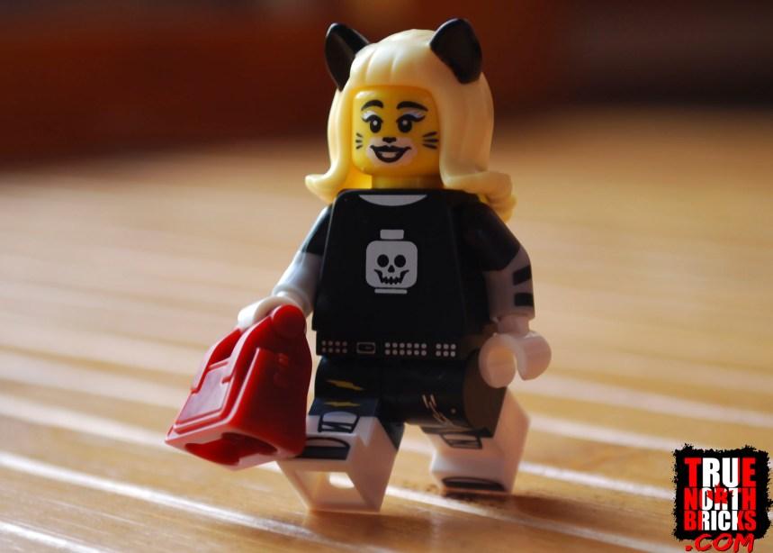 Cat girl build-a-mini