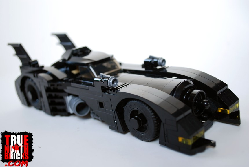 1989 Batmobile (Limited Edition) side view.