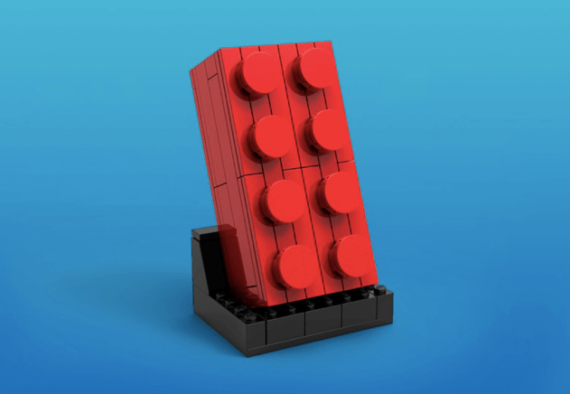 LEGO® Store VIP weekend buildable 2x4 buildable brick freebie