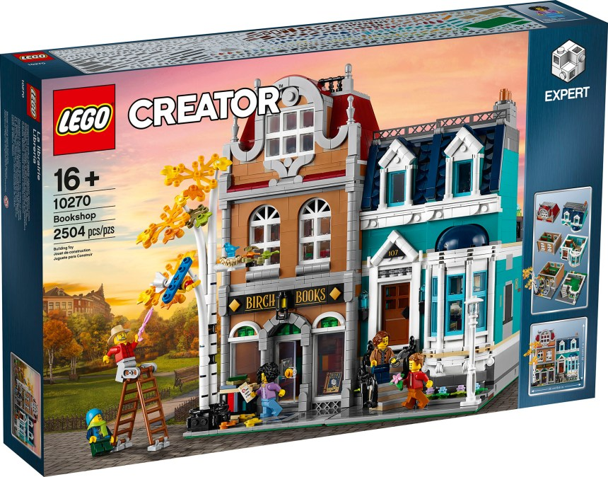 Creator Expert Bookshop (10270) front box art.