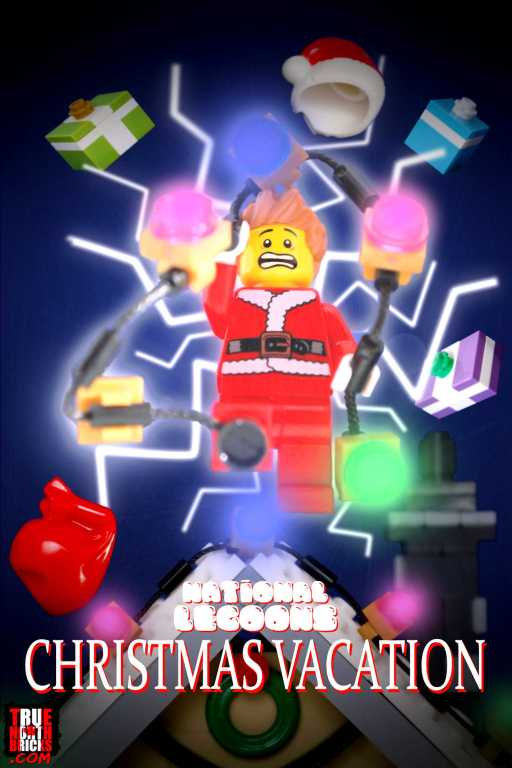 Christmas Vacation LEGO-fied