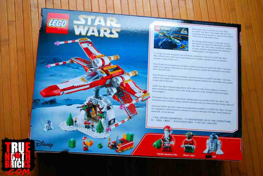 LEGO® Group Holiday Gift, rear box art.