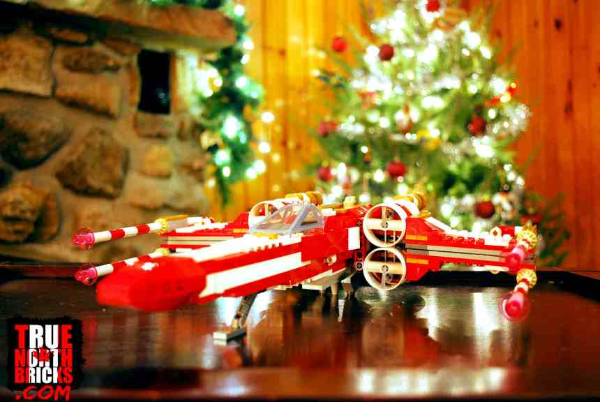 Christmas X-wing (4002019)
