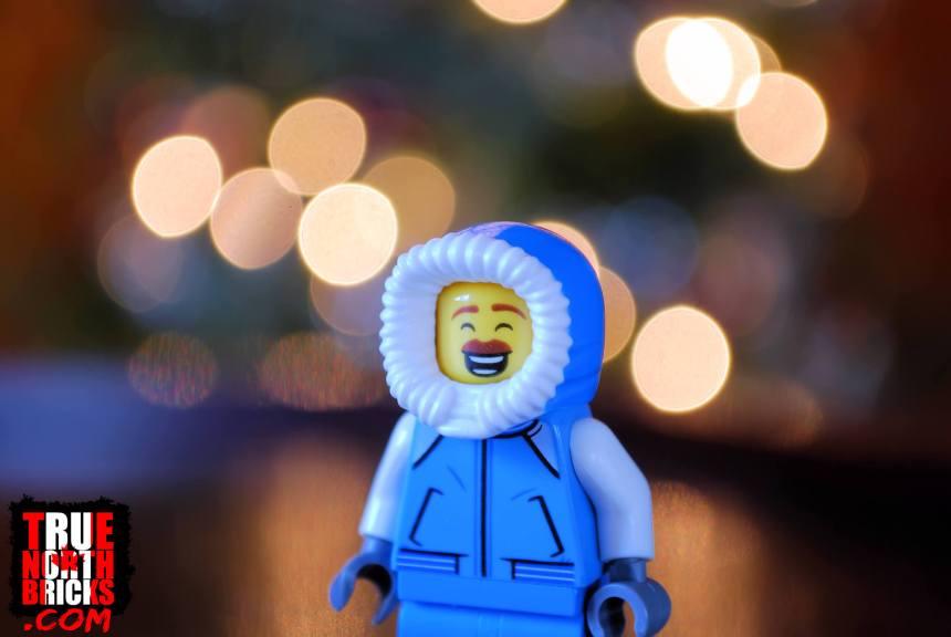 2019 City Advent Calendar smiling Minifigure.