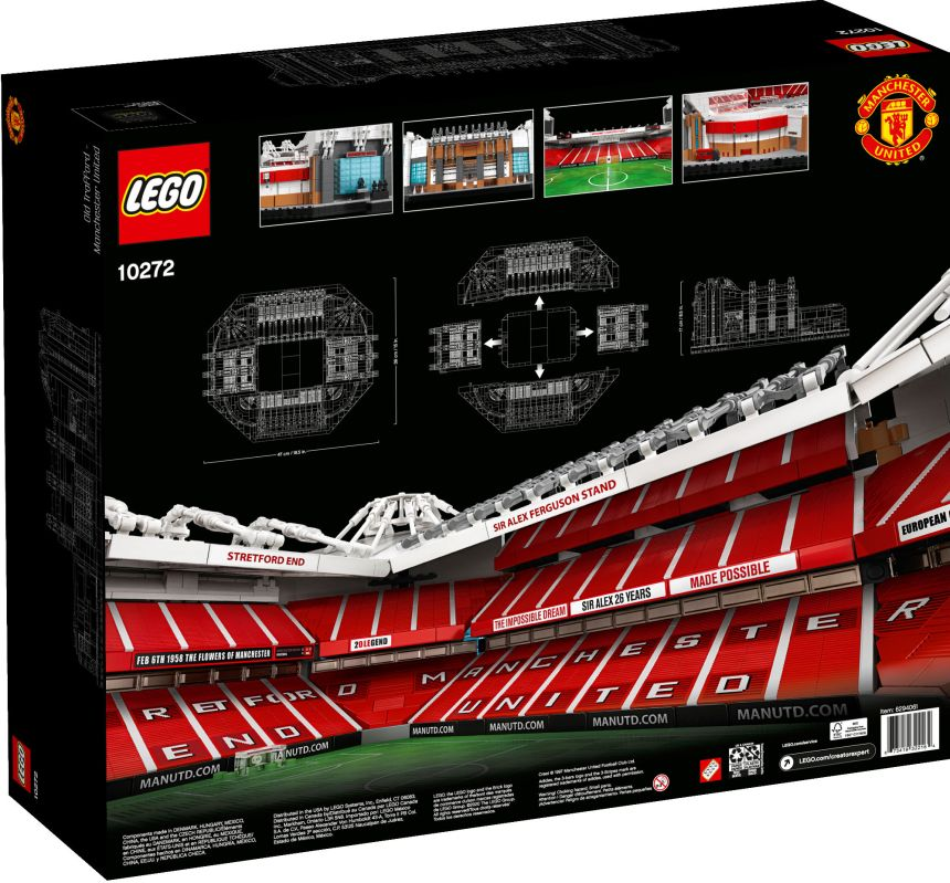 Old Trafford (10272) rear box art
