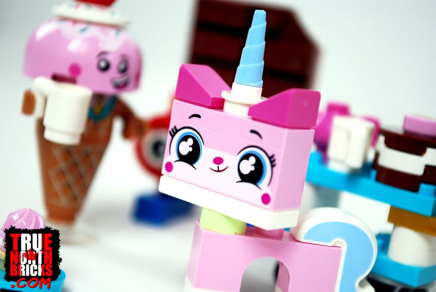 Unikitty and her sweet friends.