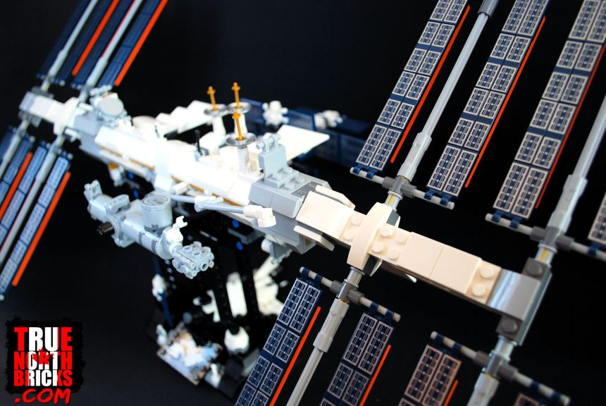 The LEGO® International Space Station.