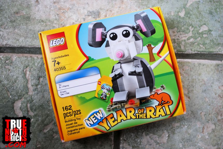 Year of the Rat (40355) front box art.