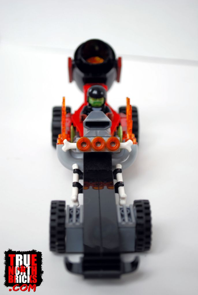Front view of Drag Racer.