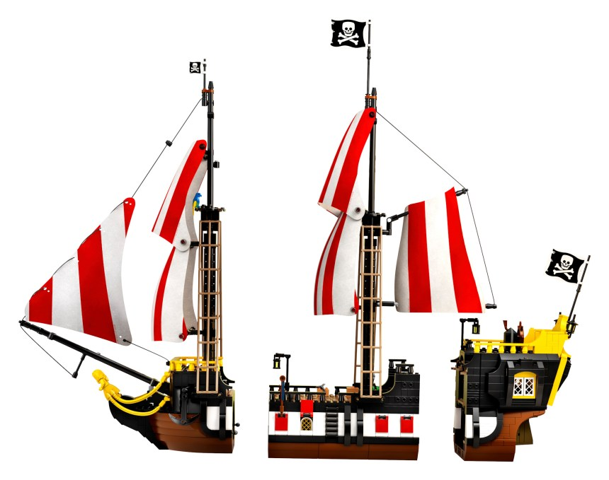 The new Black Seas Barracuda from the LEGO Pirates set coming soon.