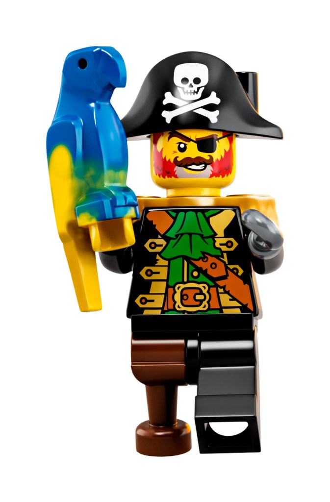 LEGO Pirates set coming soon, featuring Captain Redbeard!