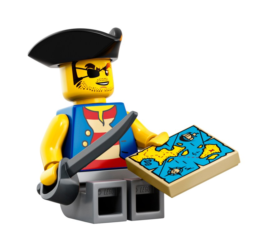 LEGO Pirates set coming soon to feature familiar Minifigure designs.