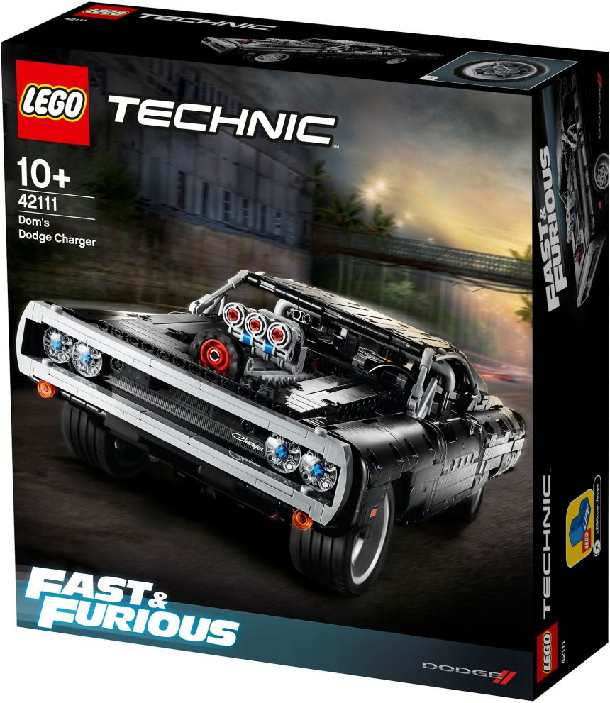 LEGO Fast and Furious box art.