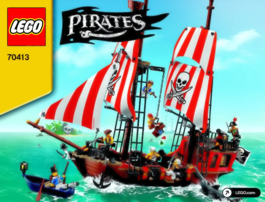 Top 10 biggest pirates sets: the Brick Bounty