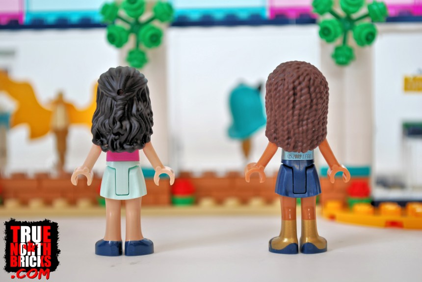 Rear view of Mini-dolls in Andrea's Accessories Store.