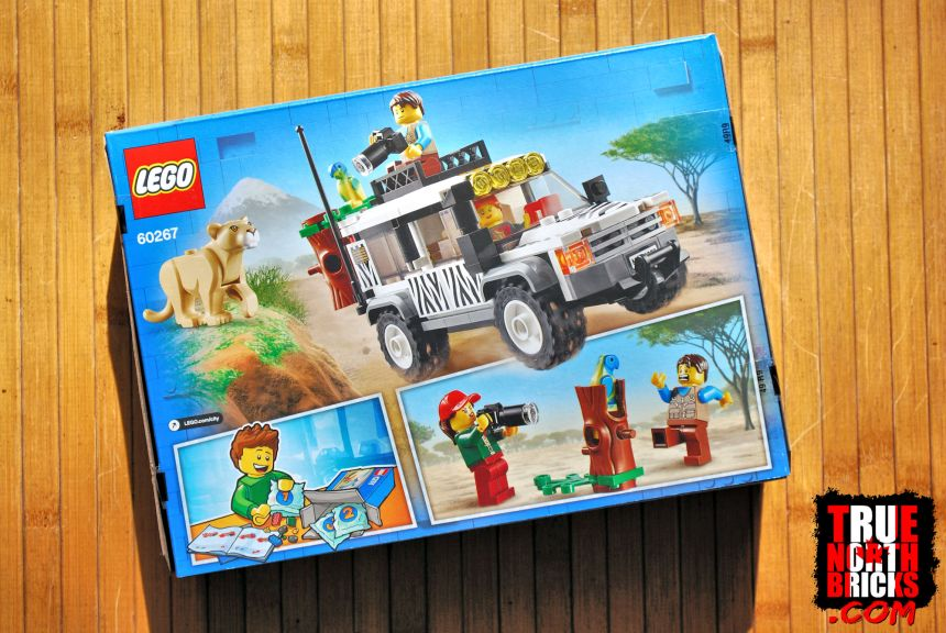 Safari Off-roader (60267) rear box art.