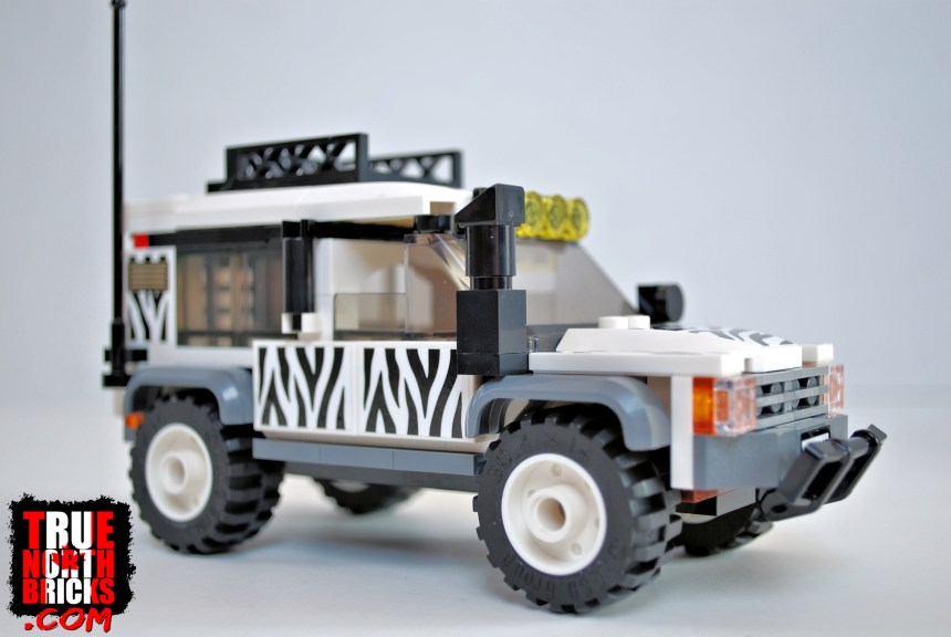 Side view of the Safari Off-roader.