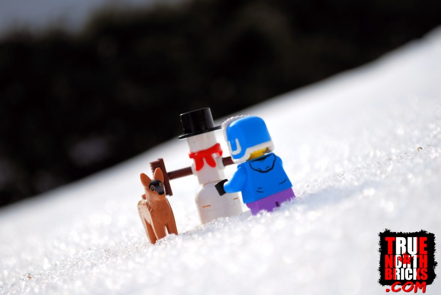 Snowman build.