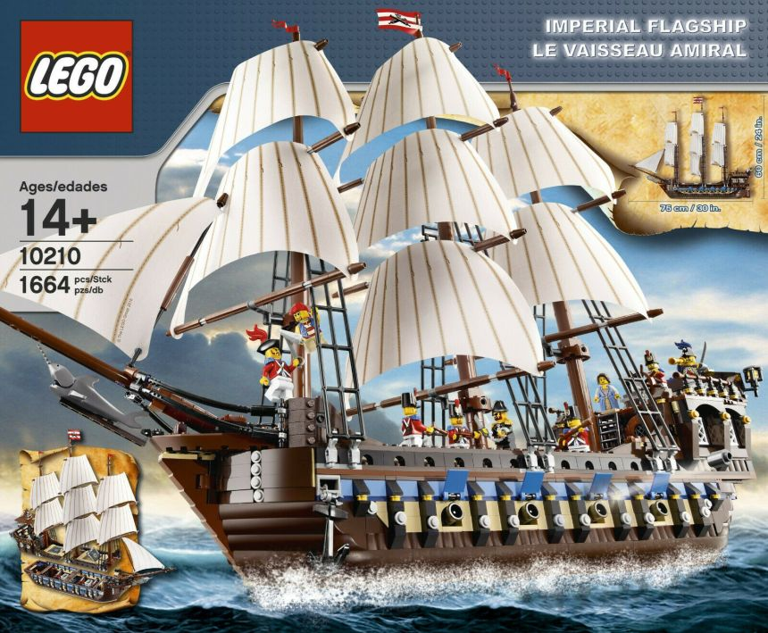 Top 10 biggest pirates sets: Imperial Flagship.