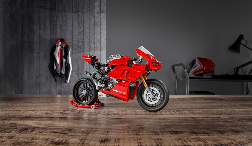 LEGO Ducati Panigale V4 R coming soon.